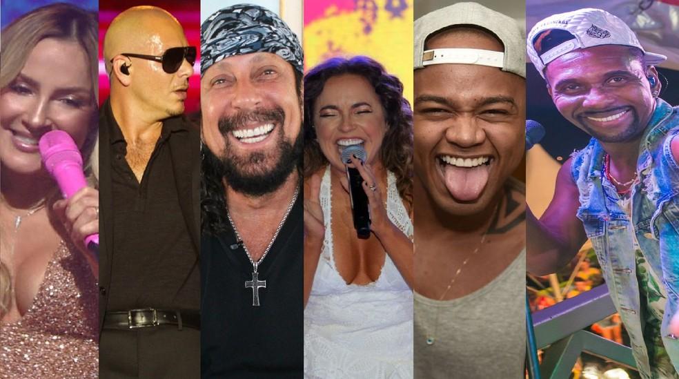 Confira os artistas que se apresentarm nesta quinta (8) de Carnaval em Salvador (Foto: Divulgação)