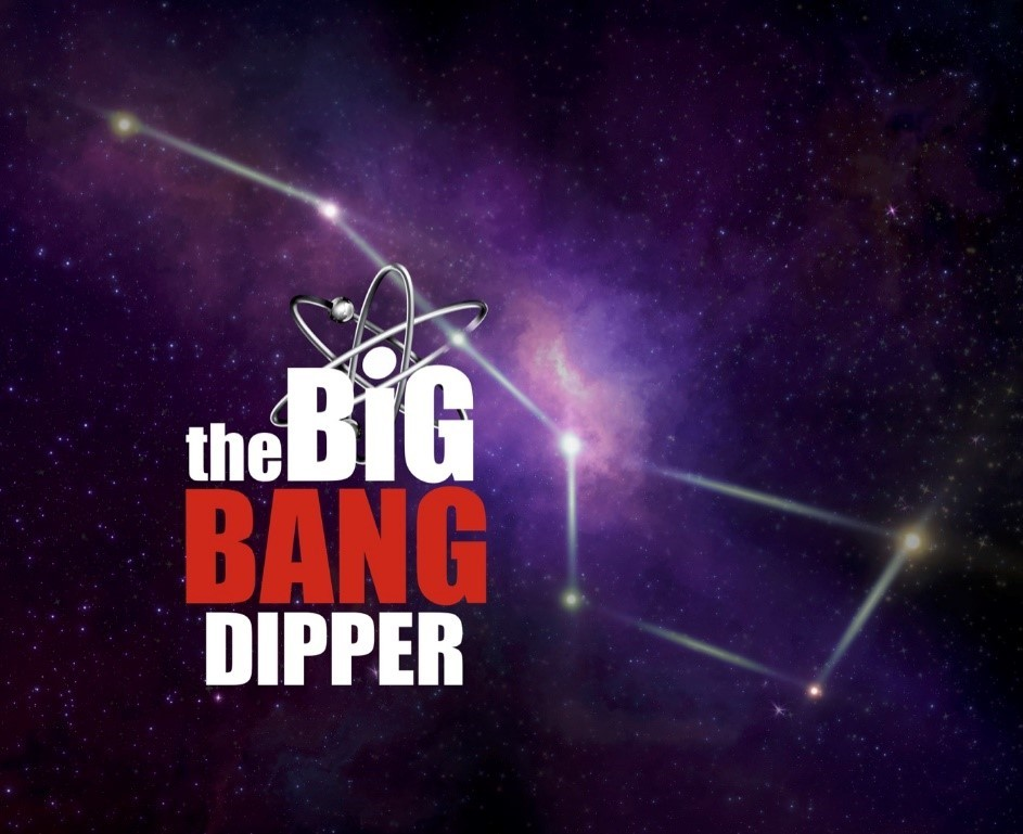 "Asterismo Big Dipper será chamado de ""The Big Bang Dipper"" em homenagem à série The Big Bang Theory (Foto: Divulgação: The Warner Channel )"