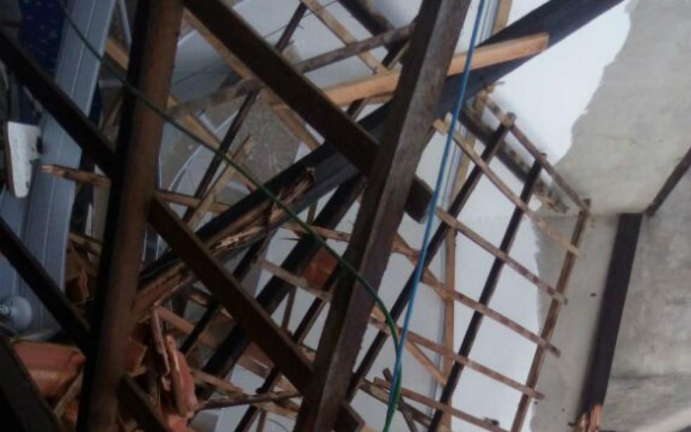 Prefeitura afirma que madeiras eram frágeis (Foto: Divulgação/Secom)