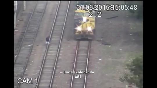 Imprudência é a principal causa de acidentes em ferrovia de Juiz de Fora