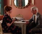 Christina Hendricks e John Slattery em 'Mad men'   Reprodução