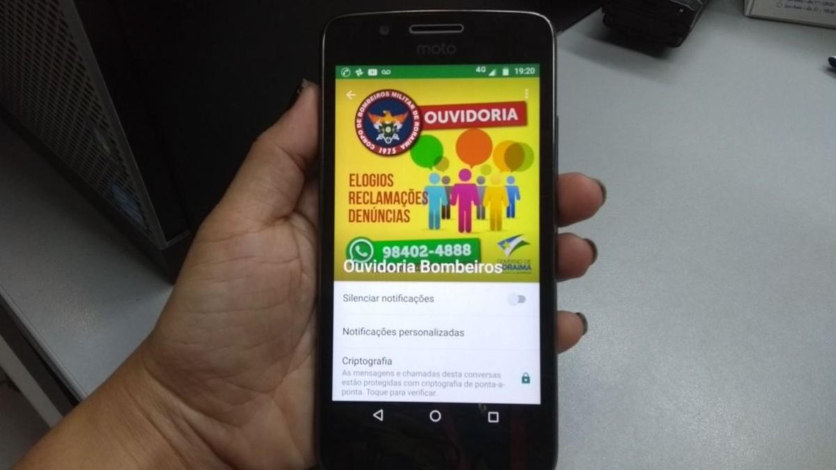 Corpo de Bombeiros de RR implanta ouvidoria por meio do WhatsApp