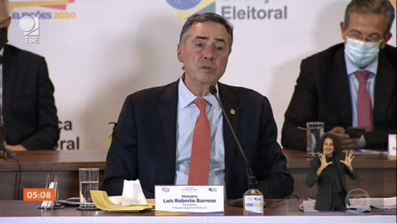 Presidente do TSE analisa segurança do sistema eleitoral brasileiro
