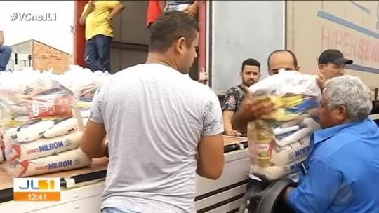 Carnaval de rua é substituído por distribuição de cestas básicas em Canaã dos Carajás, no PA