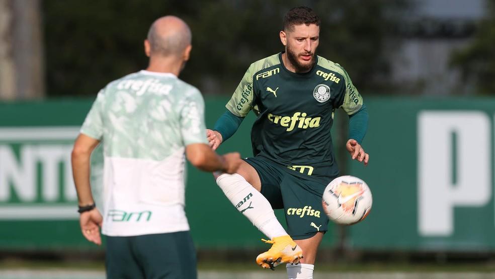 Com retorno de meia, Palmeiras continua preparação para a Libertadores; veja provável time