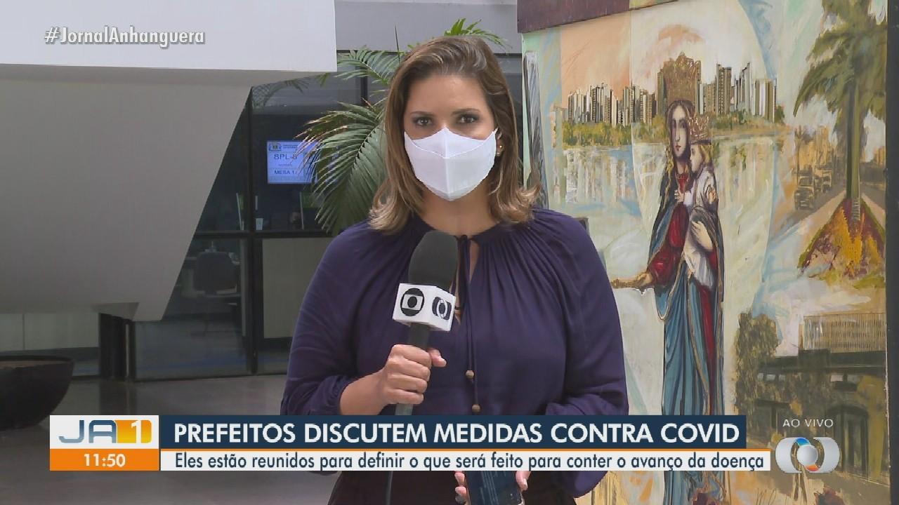 Prefeitos se reúnem para criar decreto para a Região Metropolitana de Goiânia