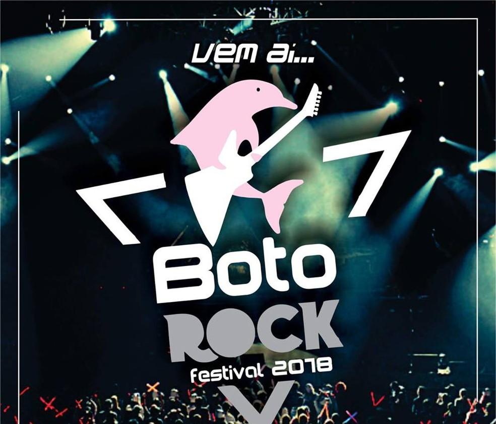 'Festival Boto Rock' será realizado pela Funcultural em Porto Velho (Foto: Funcultural/Divulgação)