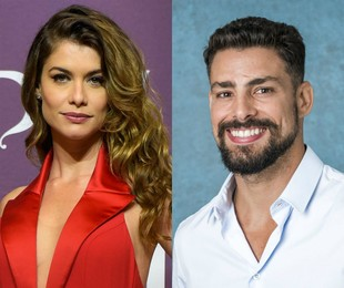 Alinne Moraes e Cauã Reymond | Cesar Alves e Paulo Belote/TV Globo