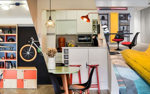 9fa5356ecda0 Decoração jovem: 58 ideias para um primeiro apartamento - Casa Vogue    Ambientes