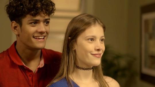 Marco Rodrigo impõe condição para namoro de Cleber e Anjinha!