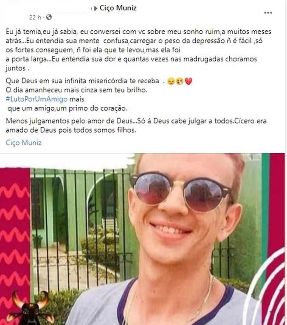 Morre estudante de enfermagem após complicações da Covid — Foto: Facebook/Reprodução