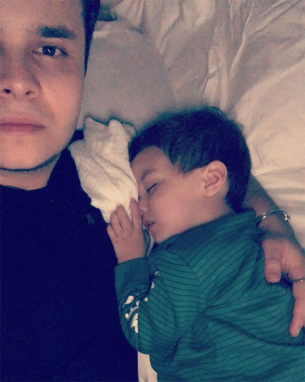 Matheus Aleixo e Davi (Foto: Reprodução/Instagram)