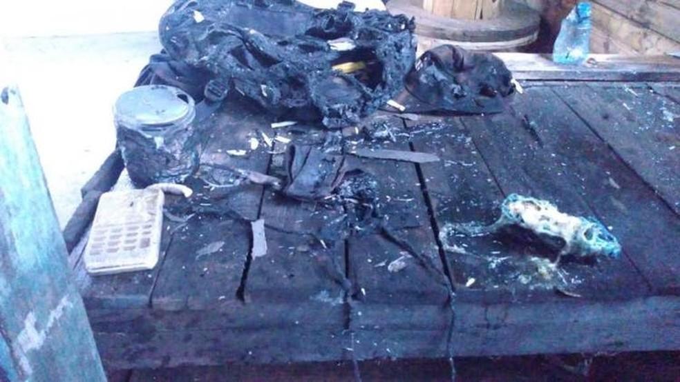 Caso aconteceu em Blumenau, no Vale do Itajaí, no sábado (2) — Foto: Corpo de Bombeiros/Divulgação