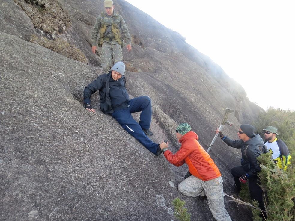 Pico dos Marins tem mais de dois mil metros (Foto: Arquivo Pessoal)