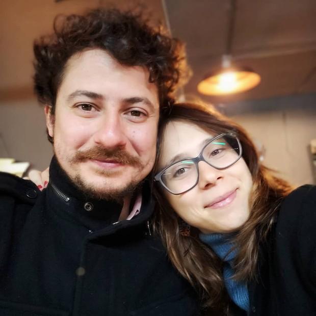 Daphne Bozaski e Gustavo Araújo (Foto: Reprodução)