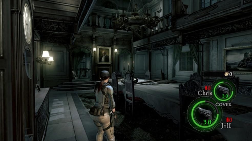 Resident Evil 5 e 6 trazem todos os seus DLCs, como a história Lost in Nightmares de RE 5 sobre o desaparecimento de Jill — Foto: Reprodução/Nintendo