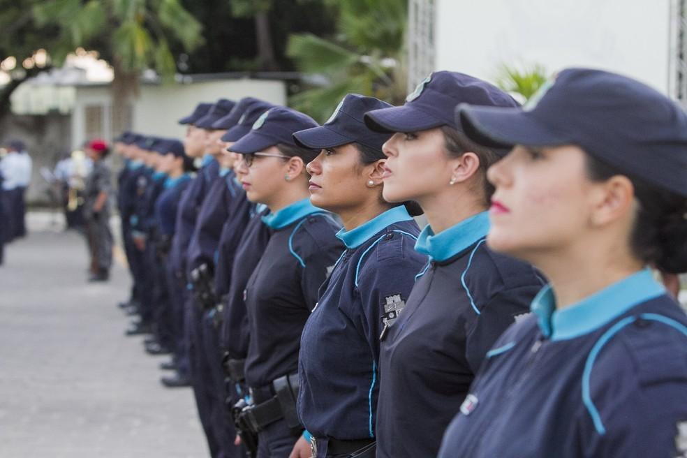 Polícia Militar do Ceará e Secretaria da Segurança repudiam comentários machistas contra mulheres da corporação — Foto: Carlos Gibaja/SSPDS