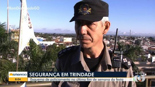 Polícia tem esquema de segurança especial para a Romaria de Trindade