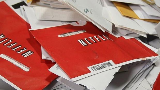 A Netflix começou como um serviço de aluguel de DVDs por correio (Foto: Getty Images via BBC News)