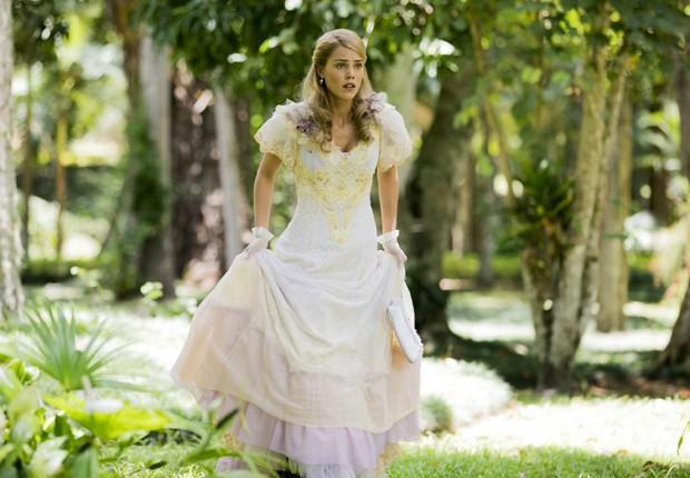 Jané (Pâmela Tomé) irá fugir e contará com a companhia da irmã Elizabeta (Nathalia Dill) (Foto: Divulgação/TV Globo)