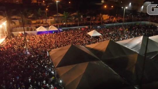 Festival da Juventude recebe mais de 100 mil pessoas em Praia Grande; Raimundos encerra evento