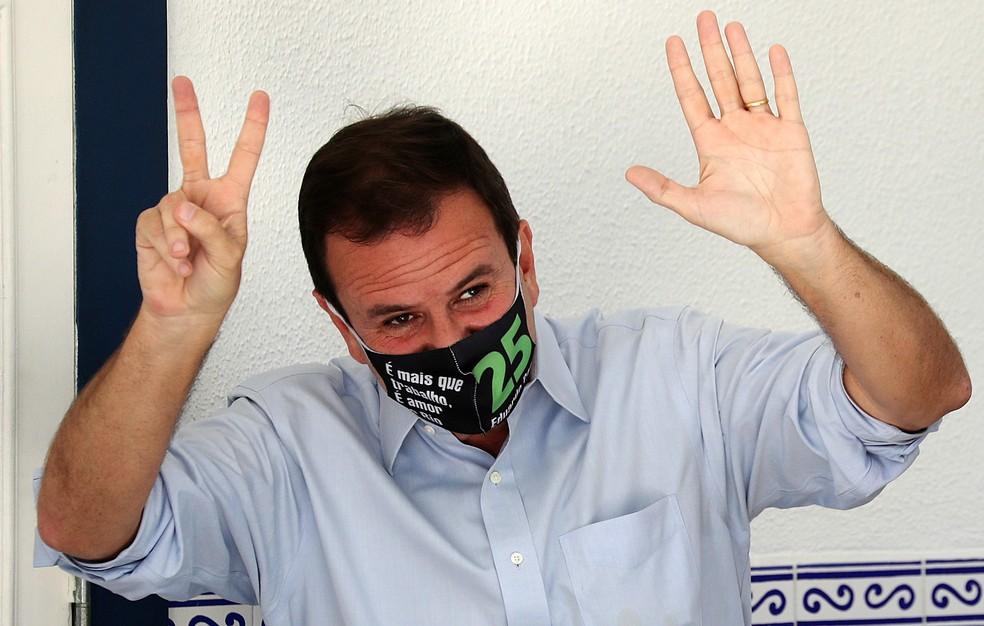 Eduardo Paes (DEM), eleito prefeito do Rio de Janeiro — Foto: REUTERS/Sergio Moraes