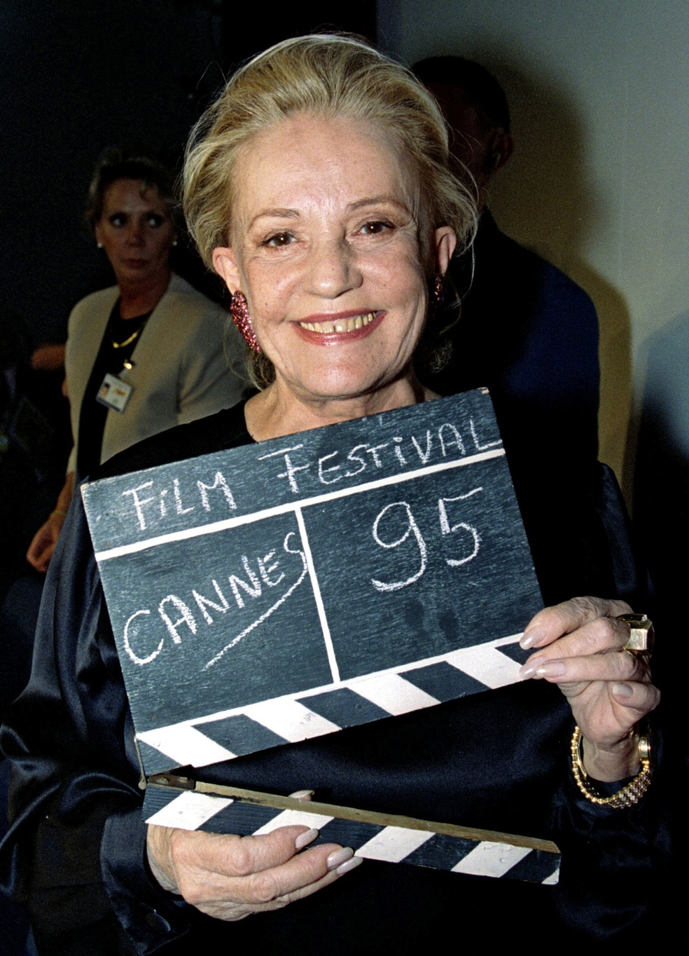 Jeanne Moreau (Foto: REUTERS/Eric Gaillard/File Photo)