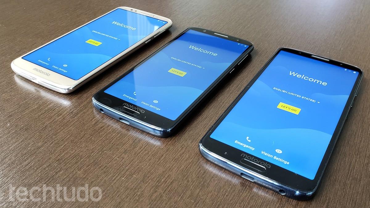 437a7d8b6 Moto G6 tem lançamento no Brasil  Motorola também revela G6 Play e G6 Plus