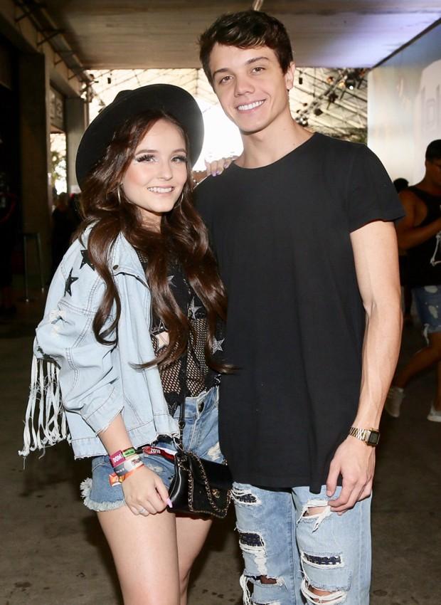Larissa Manoela afirma estar 'apaixonadíssima' pelo atual namorado, o ator Léo Cidade (Foto: Manuela Scarpa/Brazil News)