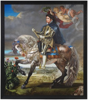 Equestrian Portrait of King Philip II, de Kehinde Wiley