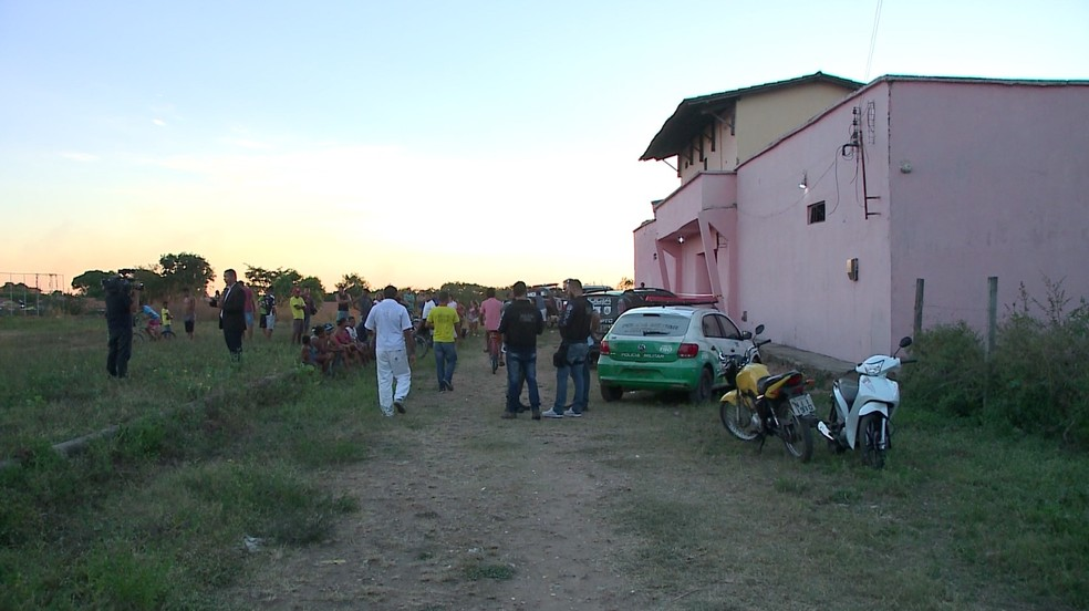 Polícia suspeito que crime foi latrocínio (Foto: Reprodução/TV Clube)
