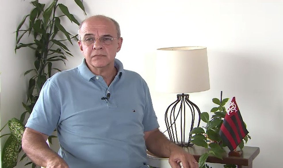 Eduardo Bandeira de Mello, ex-presidente do Flamengo, foi denunciado pelo MP — Foto: Carlos Trinta