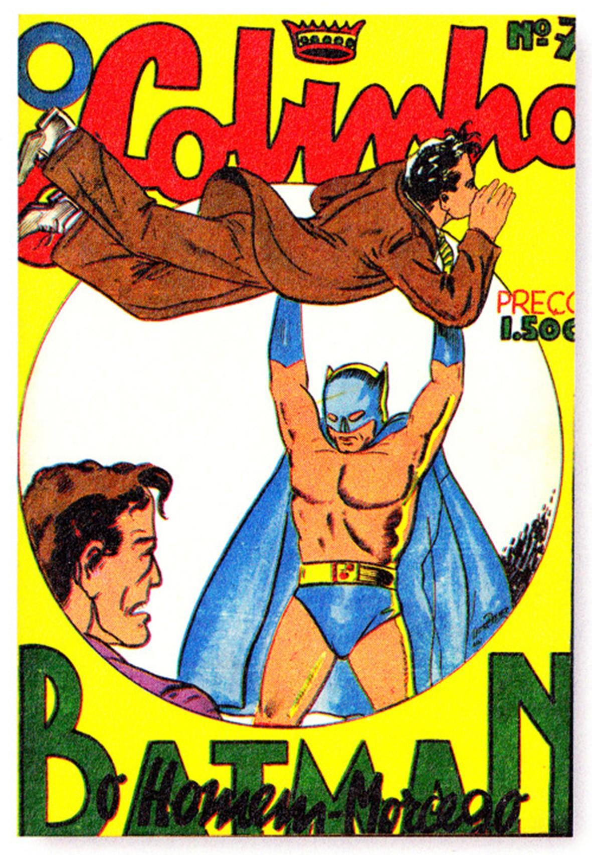 O Lobinho 7, de 1940, primeira vez em que o Batman foi publicado no Brasil (Foto: Divulgação)