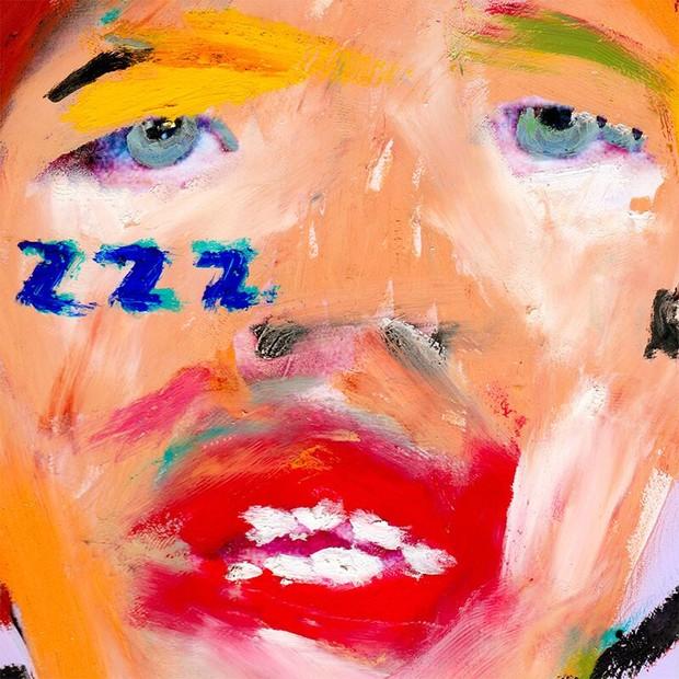 Capa do EP, criada pelo artista , February James  (Foto: Divulgação)