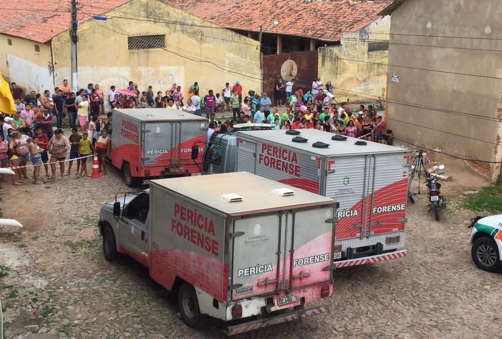 Briga entre facções resulta em 10 presos assassinados na Cadeia Pública de Itapajé (Foto: Divulgação)