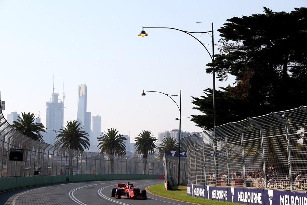 Circuito do Albert Park receberá a abertura da temporada 2020 da Fórmula 1 — Foto: Charles Coates/Getty Images