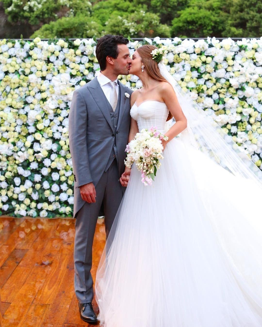 O casamento de Marina Ruy Barbosa e Xande Negrão (Foto: Reprodução )