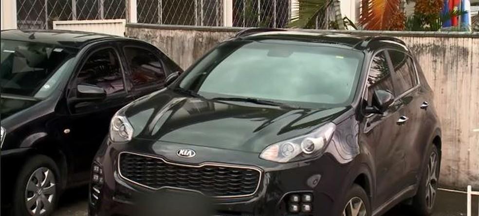 Juiz quer saber como foi pago o veículo adquirido durante a campanha (Foto: reprodução NSC TV)