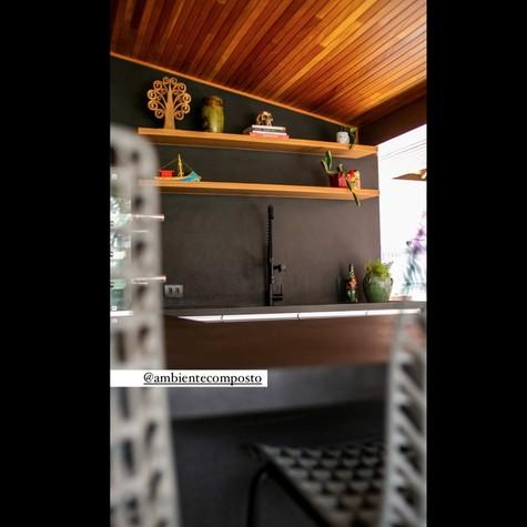 Área gourmet da casa de José Loreto (Foto: Reprodução Instagram)