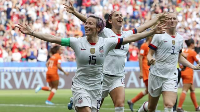 EUA Holanda final Copa do Mundo feminina