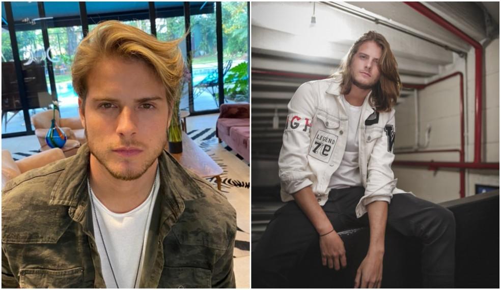 Veja o 'antes e depois' de Daniel Lenhardt — Foto: Divulgação; Divulgação/Roberto Trumpauskas