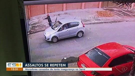 Moradores da Serra, ES, reclamam de insegurança nos bairros