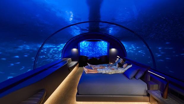 Hotel Muraka nas Maldivas, no Oceano Índico, tem diária por R$ 1 mil (Foto: Divulgação)