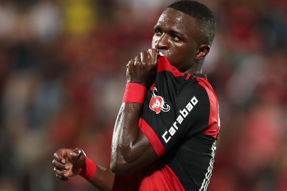 Vinicius Junior é a maior venda da história do Flamengo (Foto: Gilvan de Souza/Flamengo)