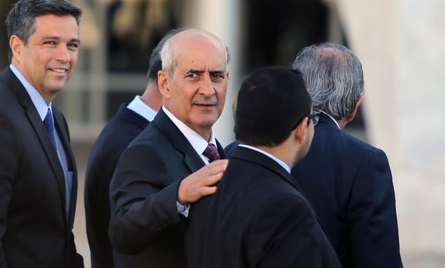 O ministro da secretaria de Governo Luiz Eduardo Ramos