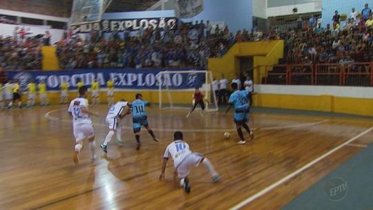 Rodada de segunda define os semifinalistas da Taça EPTV de Futsal 2018