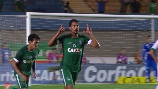 Os gols de Goiás 1 x 1 Guarani pela 6ª rodada do Campeonato Brasileiro Série B