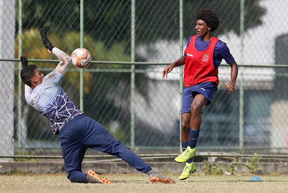 Talles Magno, atacante do Vasco sub-20 — Foto: Rafael Ribeiro / Vasco