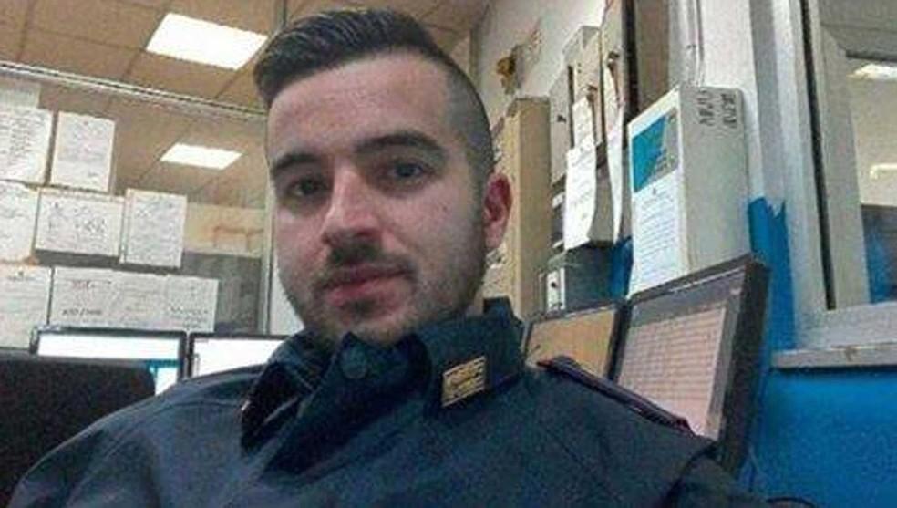 Luca Scatà matou tunisiano Anis Amri (Foto: Reprodução G1/ Facebook )