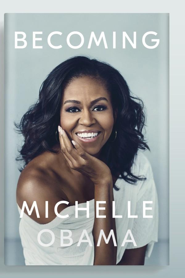 Michelle Obama, livro Becoming (Foto: Divulgação)